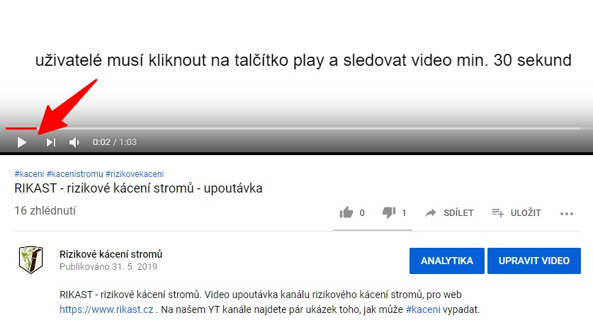 Jak YouTube počítá shlédnutí